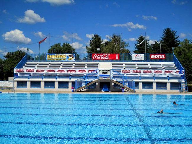 Schwimmbad in Bjelovar