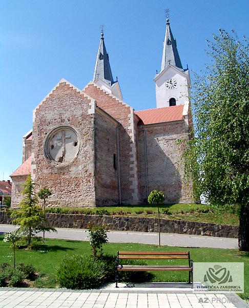 Die Kirche der hl. Marija Magdalena in Čazma