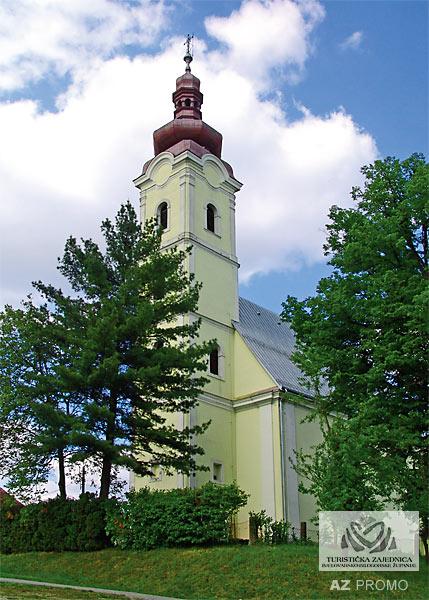 Crkva Pohoda Blažene Djevice Marije - Garešnica