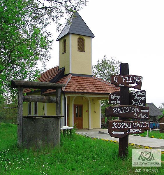 Kapelica sv. Ane u Gornjim Mostima