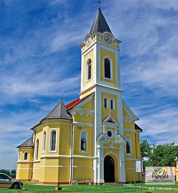 Crkva Uznesenja Blažene Djevice Marije, Končanica