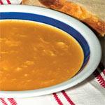 Braune Mehlschwitz Suppe